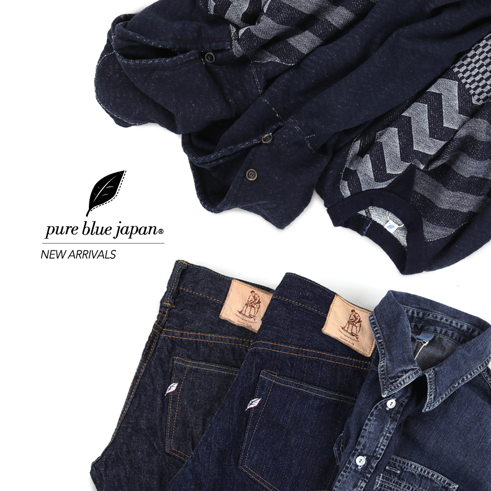 Pure Blue Japan New Arrivals