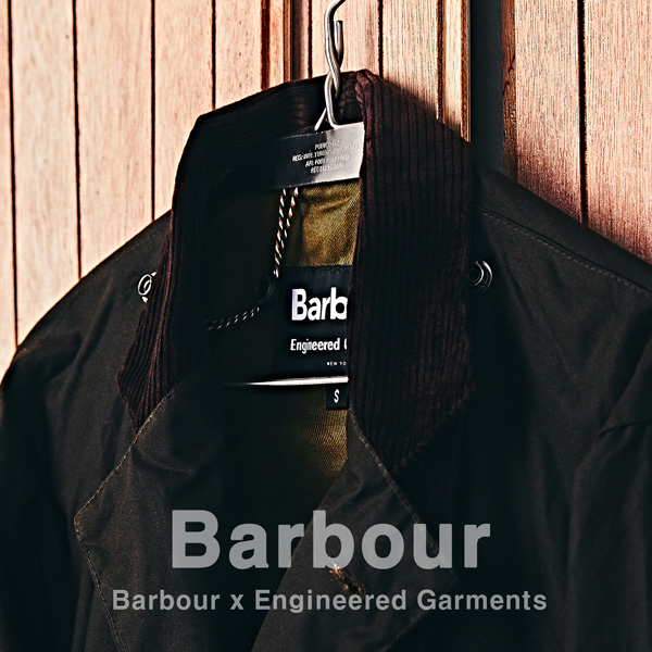 [NEW ARRIVALS] Barbour X Engineered Garments Upland Wax Jacket