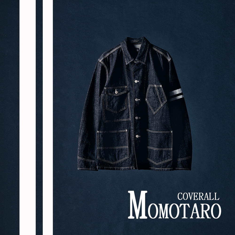 [NEW ARRIVALS] MOMOTARO Indigo Denim Coverall