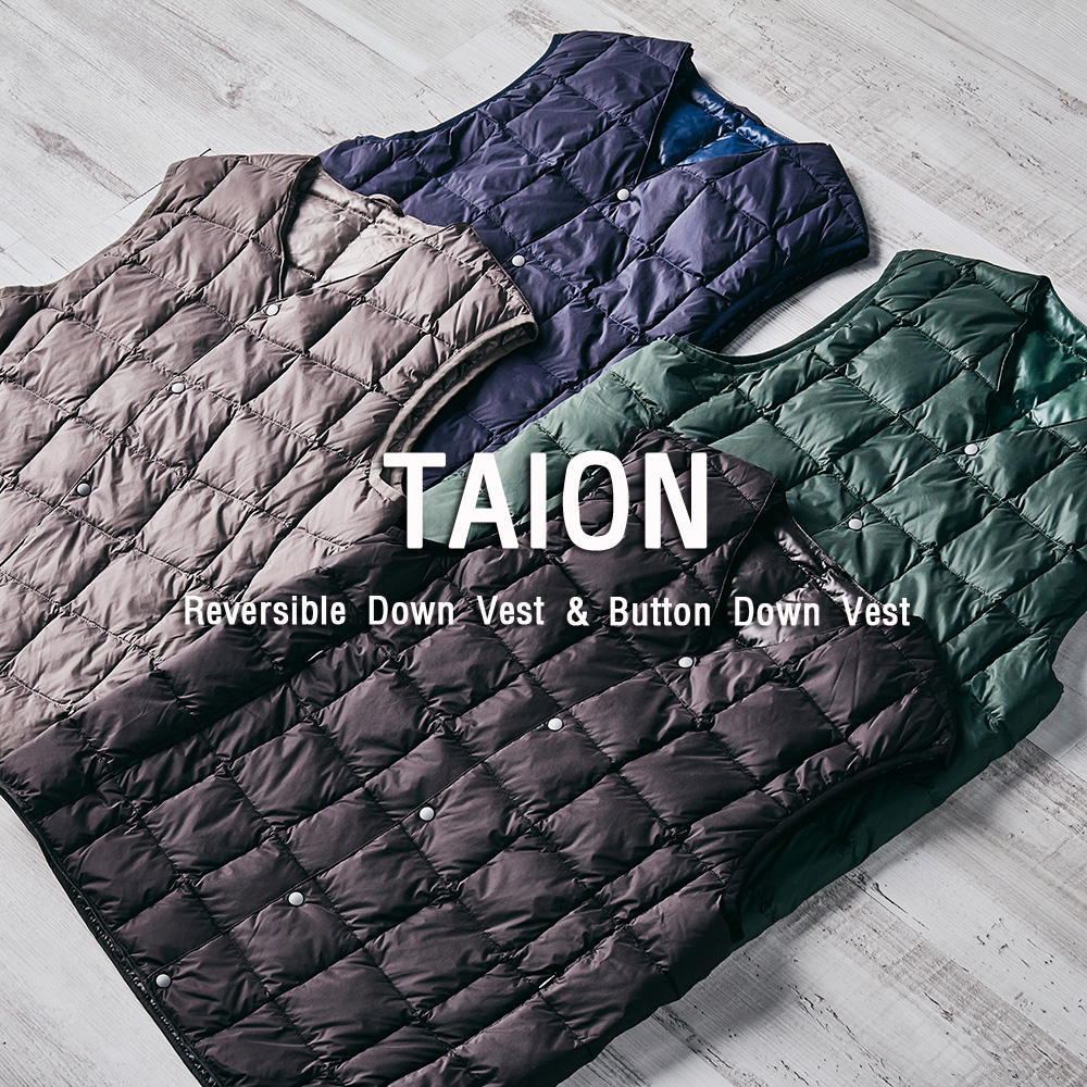 [NEW ARRIVALS] TAION DOWN VEST
