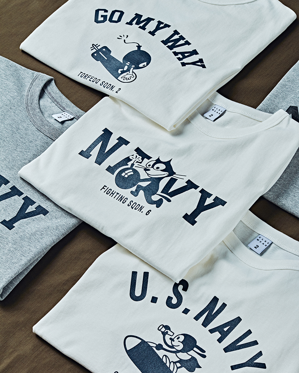 [ELSEWEAR] 2020SS MILITARY T-SHIRTS